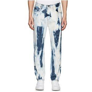 Helmut Lang Jeans - Helmut Lang 97 Jeans In Bleached Denim